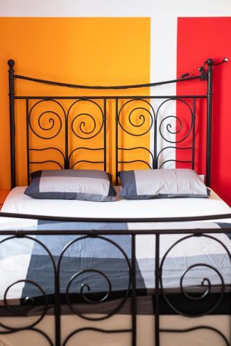 Cama ou camas em um quarto em Fluxus Hostel