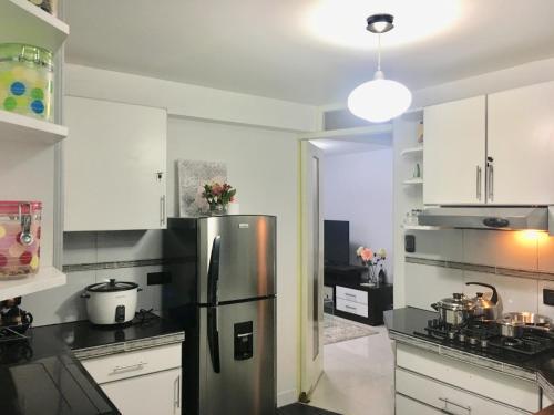 مطبخ أو مطبخ صغير في YONED'S APARTAMENTS