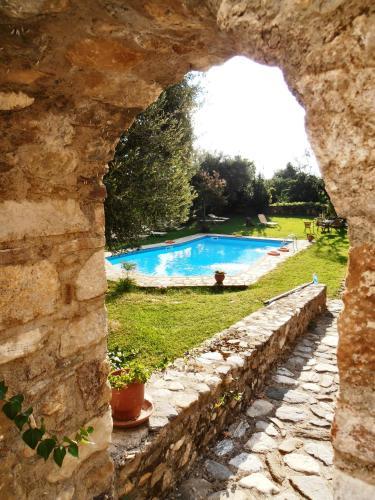 A piscina localizada em Byzantion Hotel ou nos arredores