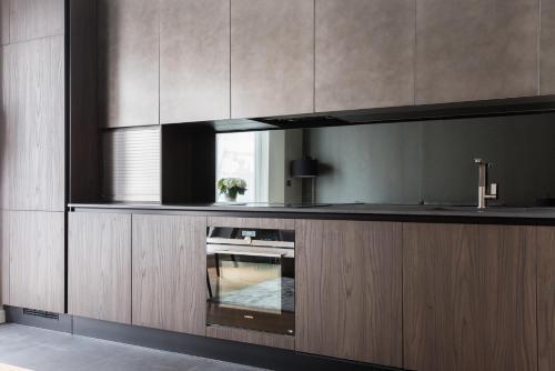 A cozinha ou cozinha compacta de The Harrington