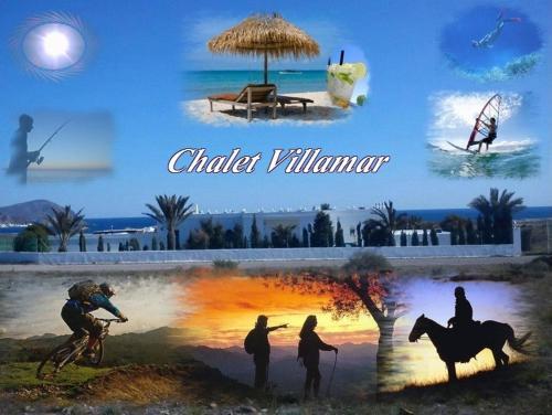 Hotel Pictures: Alojamiento Chalet Villamar, Los Escullos