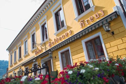 酒店图片: Hotel Goldenes Kreuz, Grein