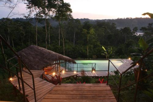 Hotel Pictures: Hamadryade Lodge, Puerto Misahuallí