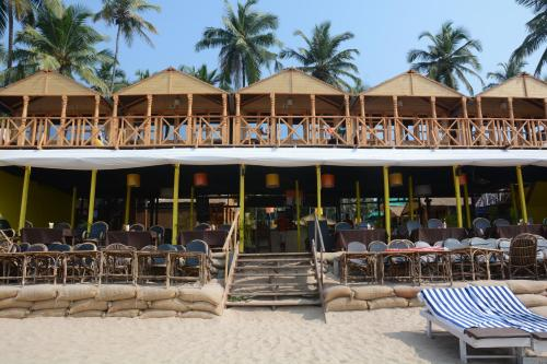 Palolem beach resort территория