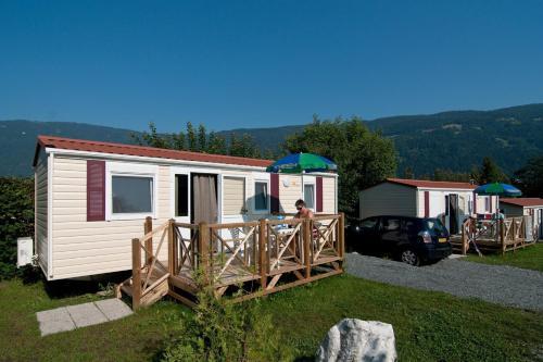 Hotellikuvia: Ideal Camping Lampele, Ossiach
