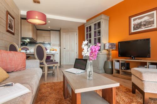 אזור ישיבה ב-Résidence Pierre & Vacances Premium L'Amara