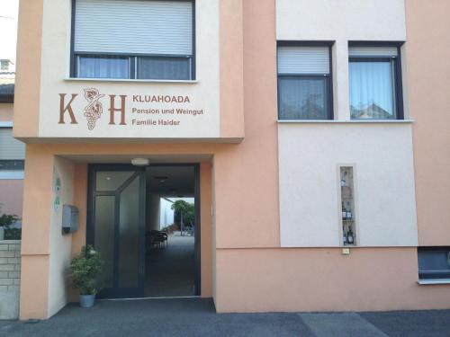 酒店图片: Winzerhof Klua Hoada, 伊尔米茨