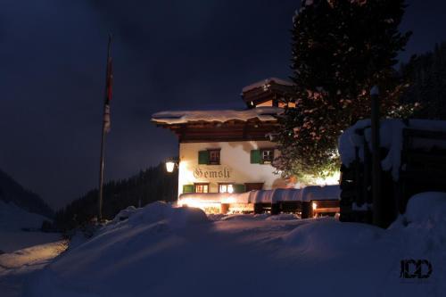 Gemsli, Das Berg- zu Haus
