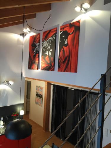 k nstlerkneipe rheinstetten un restaurante de la gu a michelin. Black Bedroom Furniture Sets. Home Design Ideas