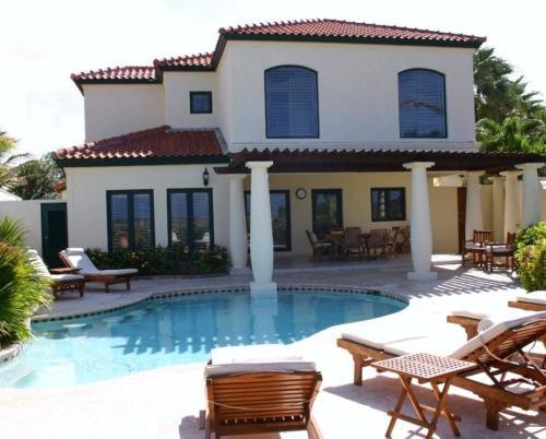 Zdjęcia hotelu: Luxurious Ocean View Tierra del Sol Villa, Palm-Eagle Beach
