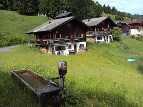 Fotos de l'hotel: Ferienwohnung im Blockhaus Metzler, Schwarzenberg im Bregenzerwald