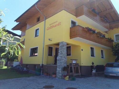 Hotellikuvia: Apartmenthaus Gotthardt, Kaprun