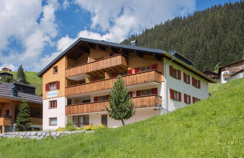 Fotografie hotelů: Aparthotel Brunnenhof, Damuls