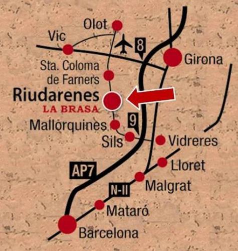 Hotel Pictures: Hotel La Brasa de Riudarenes, Riudarenes