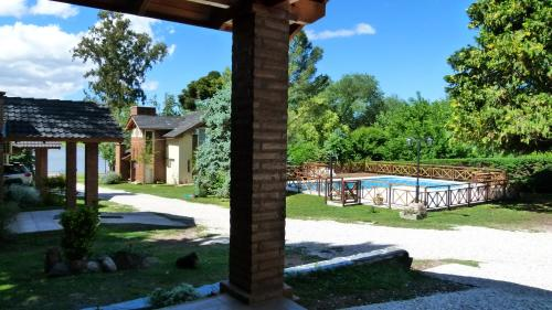ホテル写真: Cabañas Amanecer en el Lago, Villa del Dique