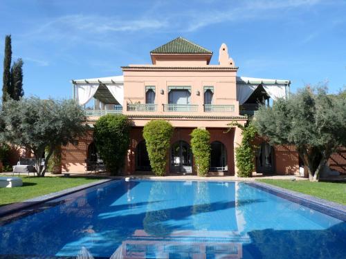 Palais mehdi r servation gratuite sur viamichelin for Le jardin 32 route sidi abdelaziz marrakech 40000