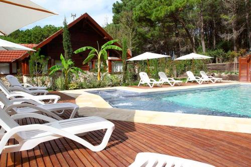 ホテル写真: Cabañas del Bosque, Mar Azul