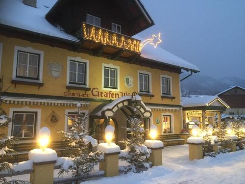 Фотографии отеля: Dorfgasthof zum Grafenwirt, Айх