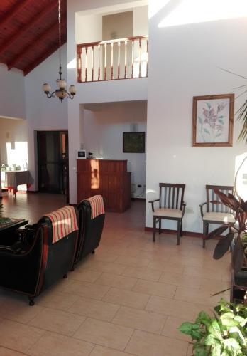 Un lugar para sentarse en Posada Barrancas Del Sol
