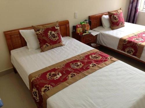 Phòng 2 Giường đơn có Phòng tắm riêng