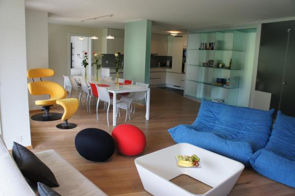 Deluxe Four-bedroom Apartment with Private Spa