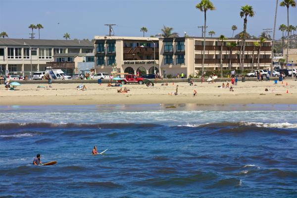 酒店图片: Ocean Beach Hotel, 圣迭戈