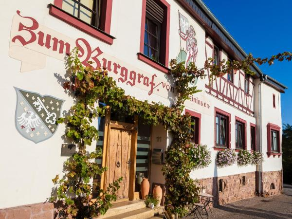 Hotelbilleder: Hotel Restaurant Zum Burggraf, Neuleiningen