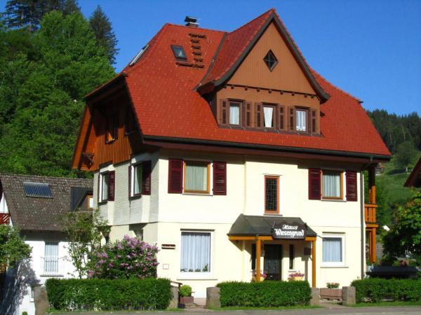 Hotel Pictures: Appartementhaus-Wiesengrund-Fewo1, Schönmünzach