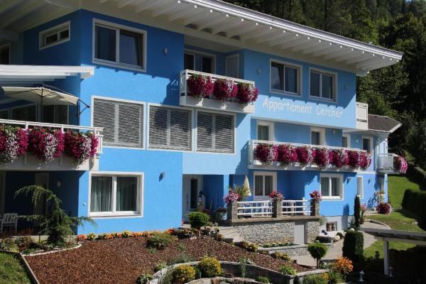 Hotelbilleder: Appartement-4-mit-2-Schlafzimmern-und-Balkon, Flattach