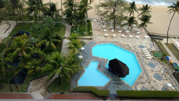 Hotel Pictures: flat Golden Beach com varanda 1215, Recife