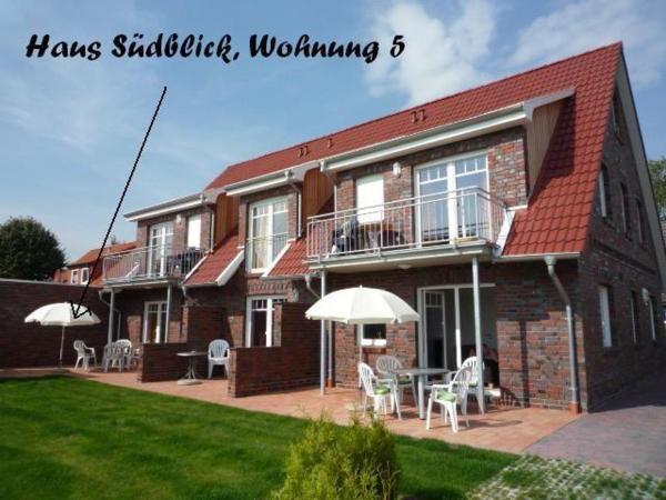 Hotelbilleder: Haus-Suedblick-Wohnung-5, Werdum
