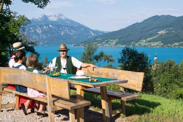 Fotografie hotelů: Ferienwohnung Angermann, Steinbach am Attersee