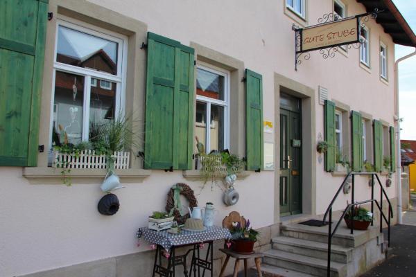 Hotelbilleder: Cafe Pension Gute Stube, Sulzfeld