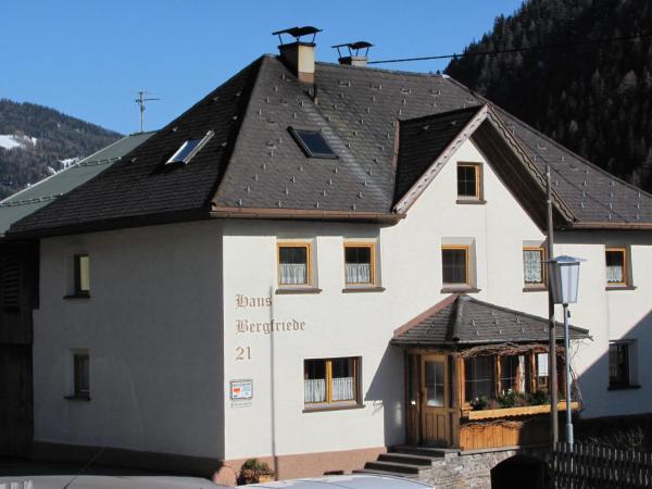 Φωτογραφίες: Haus Bergfriede, Pettneu am Arlberg