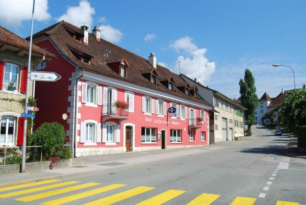 Hotel Pictures: Hotel-Rotisserie La Tour Rouge, Delémont