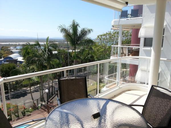 Two-Bedroom Apartment with Balcony and View