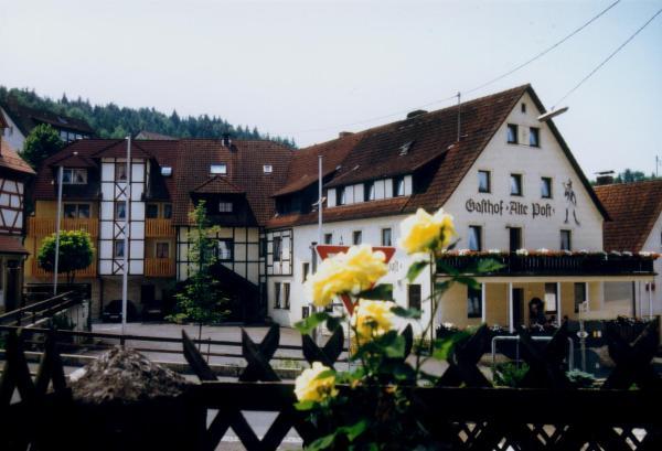 Hotelbilleder: Gasthof Alte Post, Obertrubach