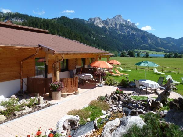 Hotellikuvia: Almdorf Tirol, Haldensee