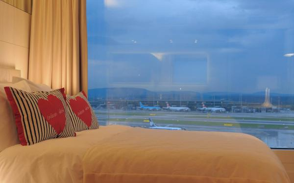 Business Class with Airfield View
