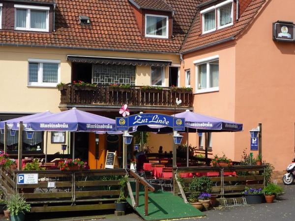 Hotelbilleder: Gasthof zur Linde, Gemünden