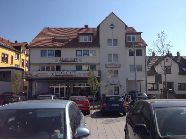 Hotelbilleder: StadtCafé Pension, Grünstadt
