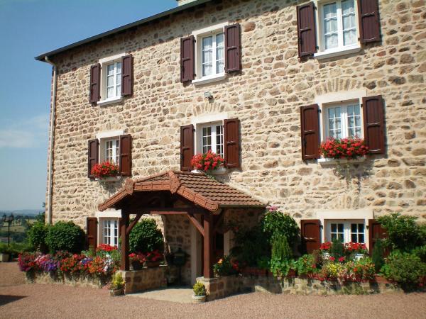 Hotel Pictures: La Ferme Fleurie, Bourg-de-Thizy