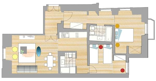 Superior Two-Bedroom Apartment (5 Adults)