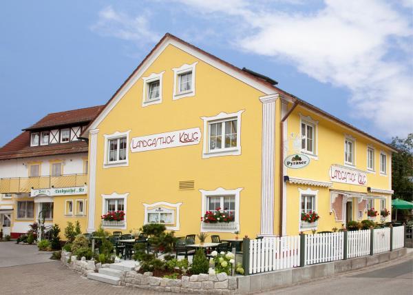 Hotel Pictures: Landgasthof Krug, Dechendorf