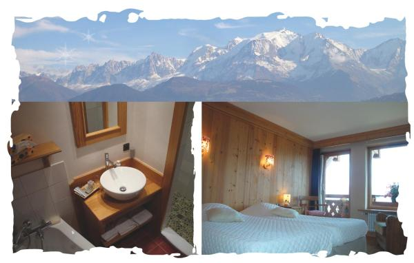 Double Room with Balcony and View of Mont Blanc
