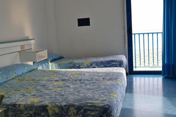 Double or Twin Room with Balcony and See View