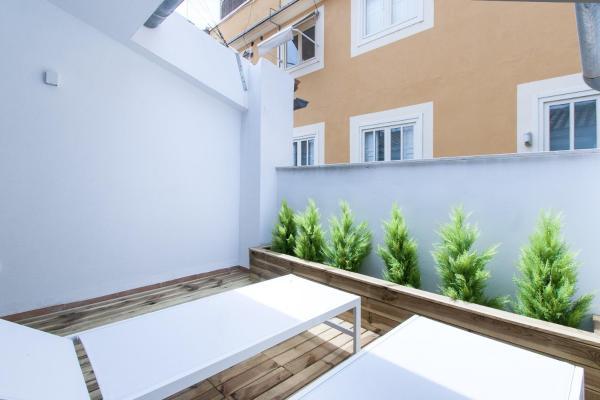 Superior Two-Bedroom Duplex with Terrace - Vestuarios 4