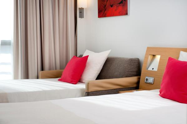 Superior Room with 1 Double Bed and 1 Single Sofa Bed
