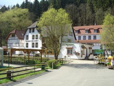 Hotelbilleder: Waldhotel Pfarrmühle, Eisenberg