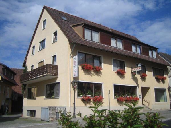Hotelbilleder: Gasthof-Metzgerei Rotes Ross, Burghaslach